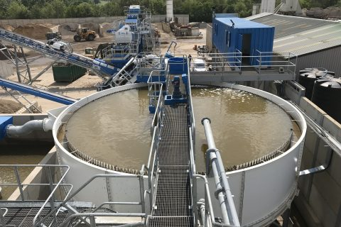Aggregate Washing Plant Installation